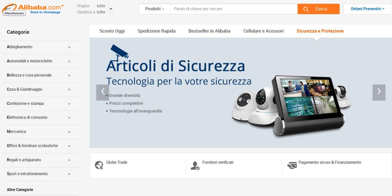 Come comprare su Alibaba Italia  alcuni consigli per gli acquisti ... 2bbe40f2c5a